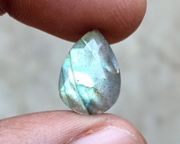 LABRADORITE CHECKERED CUT Natural+Untreated VA4692