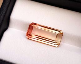 6.50 Ct Natural Bi Color Transparent Tourmaline TOP Gemstone