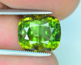 Amazing  5.40 ct Yellowish Green  Tourmaline~Afghanistan