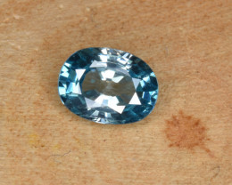 Natural Blue Zircon 1.86 Cts Top Luster Gemstone