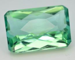 19.10 Ct Green Spodumene Gemstone From Afghanistan~ AA