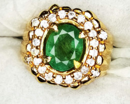 9.19g Natural Emerald Jewelry*