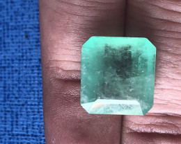 HUGE CERTIFIED 12ct COLOMBIAN EMERALD
