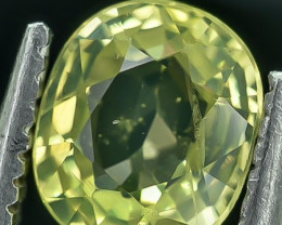 0.96 Crt Natural Chrysoberyl Faceted Gemstone.( AG 37)