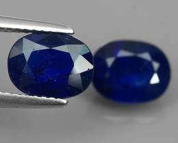 5.30 CTS DAZZLING TOP NATURAL BLUE SAPPHIRE OVAL MADAGASCAR NR!!!