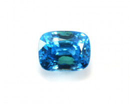CERTIFIED 12.72ct STUNNING BLUE ZIRCON