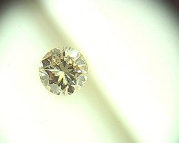 0.43ct Fancy Light Green Brown  Diamond , 100% Natural Untreated