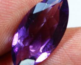 4.80cts Purplish Africa Amethyst Faceted Gemstone