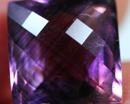 10.20cts Perfect Purplish Africa Amethyst Fancy Cutting Gemstone