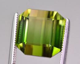 Beautiful Color 10.25 Ct Natural Bi Color Tourmaline
