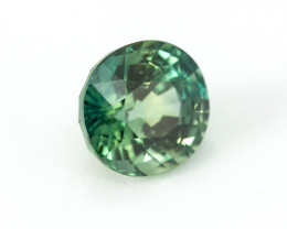 CERTIFIED 2.26ct. BLUE-GREEN SAPPHIRE
