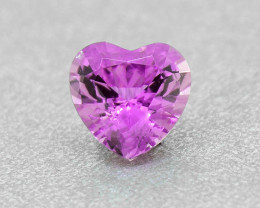 N/R Natural untreated Pink Sapphire Heart 0.29ct (01379)