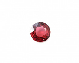 CERTIFIED 2.78ct. RED BURMESE SPINEL