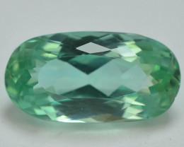 5.25 Ct Green Spodumene Gemstone From Afghanistan~ AA