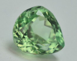 4.45 Ct Green Spodumene Gemstone From Afghanistan~ AA