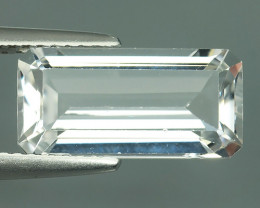 5.15 CTS  DAZZLING GOOD LUSTER 100% NATURAL WHITE TOPAZ GEM STONE!!