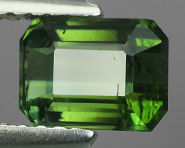 1.00 CTS AWESOME NATURAL OCAGON GREEN TOURMALINE GEM!!