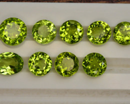 10 Ct Untreated Green Peridot