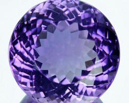 12.45Ct  Natural Purple Amethyst Uruguay Round