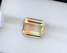 5.30 Ct Natural Bi Color VVS Tourmaline TOP Gemstone