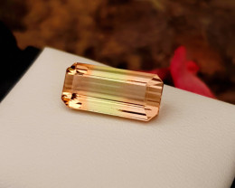 6.10 Ct Natural Tri Color Flawless Tourmaline Gemstone