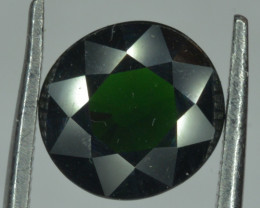 AGL Certified 2.43 Cts Natural Chrome Tourmaline Round Cut From East Africa