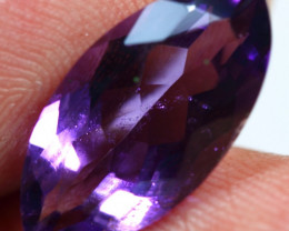 5.50cts Raspberry Purple Africa Amethyst Gemstone