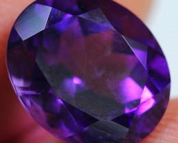 5.00cts Perfect Blue Purplish Africa Amethyst  Cutting Gemstone