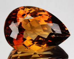 35.40Ct Natural American Topaz Pear