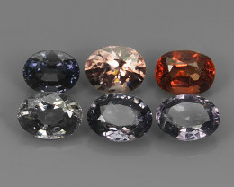 6.70~CTS GENUINE NATURAL ULTRA RARE COLLECTION OVAL FANCY SPINEL~