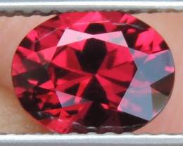 1.54cts Rhodolite of Tanzania,  Precision Cut