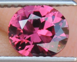 1.69cts Rhodolite of Tanzania,  Precision Cut