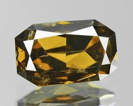 Natural Champagne Diamond - 0.64 ct