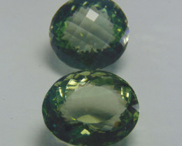 IF~FLAWLESS good  SPARKLING green amethyst 66.45cts