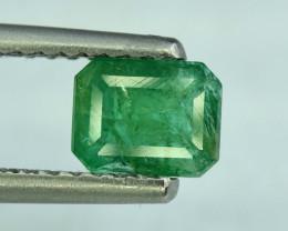 No Reserve  1.50  * Carats Natural Zambain Emerald Gemstone