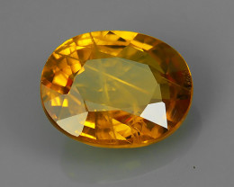 1.85 CTS AWESOME NICE YELLOW SAPPHIRE FACET GENUINE!!