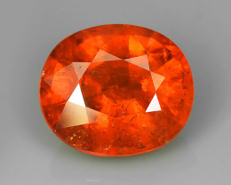 8.75 CTS BRILLIANT NATURAL LUSTER FANTA ORANGE SPESSARTITE AWESOME