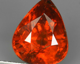 6.30 CTS MARVELOUS RARE NATURAL TOP FANTA-SPESSARITE OVAL-CUT DAZZLING  NR