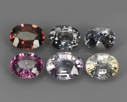 4.85 CTS AWESOME BURMESE NATURAL -SPINEL 6 PCS GORGEOUS!!