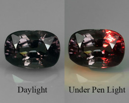 1.05 CT EXCELLENT RAREST NATURAL TOP LUSTER COLOUR CHANG GARNET OVAL GEM!