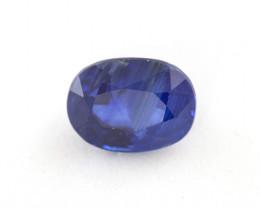CERTIFIED 2.55ct. BLUE CEYLON SAPPHIRE