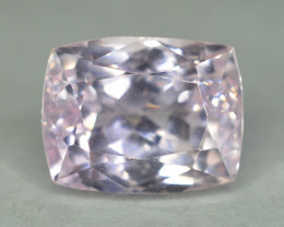 8.80 Cts NATURAL PINK KUNZITE Cushion Emerald Cut From Afghanistan