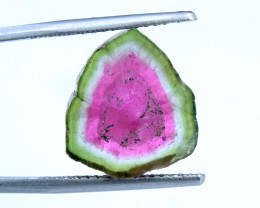 9.55 cts Beautiful Watermelon Tourmaline Slice