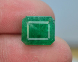 4.60 ct Natural Vivid Green Color Emerald~Swat