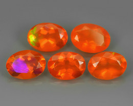 2.15  CTS BEST QUALITY~TOP COLOR EXTREME WONDER LUSTROUS GENUINE FIRE OPAL!