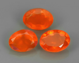 1.80 CTS BEST QUALITY~TOP COLOR EXTREME WONDER LUSTROUS GENUINE FIRE OPAL!