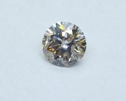 0.75ct  M-I1 Diamond , 100% Natural Untreated