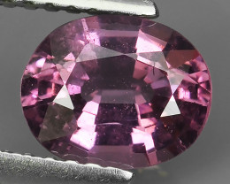 1.25 CTS FANTASTIC ULTRA RARE NATURAL SWEET PINK~OVAL CUT SPINEL!!!