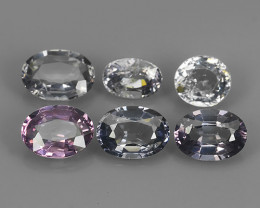 4.35 CTS  DAZZLING GOOD LUSTER 100% NATURAL FANCY SPINEL GEM STONE