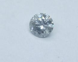 0.53ct J-I1  Diamond , 100% Natural Untreated